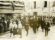 """Mrs MAGINOT, LEROY, BERTRAND à Rivesaltes 1931"" Photo originale G. DEVRED / ROL"