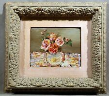 IMPORTANT FLORAL OIL PAINTING LISTED ARTIST ANDRE DERAIN FRAMED CHECK HIS PRICES