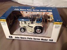 Ertl 1/16 John Deere Patio Series Model 140 Lawn & Garden Tractor in Blue - NIB