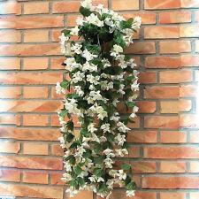 1 Bunch of Artificial Violet Hanging Garland Vine Flower Trailing Bracket Plant