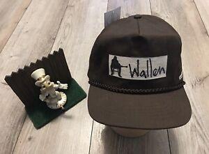 AMachenDesign Morgan Wallen Brown Golf Cap New Limited $34