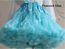 TUTU Skirts LOLITA Cosplay Petticoat Stage Dance Costume PUFFY Skirts kids gifts