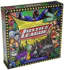 DC Comics Justice League Road Trip Original Series Board Game (nm)