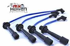 "Mazda MX5 MK1 & MK2 HT Leads 8mm Silicone Blue 1989>2005 ""New"""