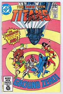 New Teen Titans #10 VF/NM Signed w/COA Marv Wolfman 3rd App Deathstroke 1981