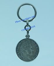 Porte-clés métal PICHARD fabricant de médailles LOUIS PHILIPPE 1 pub keychain
