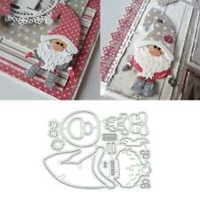 Sisha Claus Metal Cutting Dies Stencil Scrapbooking Album Paper Card Decors