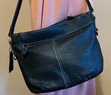 Croft & Barrow Black Leather Handbag New w/Tags Shoulder Bag Purse