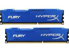 HyperX FURY 8GB (2x4GB) 1600MHz DDR3 CL10 DIMM (Kit of 2) Blue Retail Sleeve (De