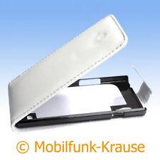 Flip Case étui pochette pour téléphone portable sac housse pour LG p760 Optimus l9 (Blanc)