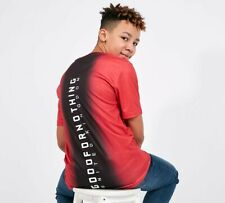JUNIOR GOOD FOR NOTHING BACK FADE RED/BLACK T-SHIRT (SA2) RRP £19.99
