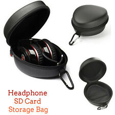 Protection Carrying Hard Case Headset Bag Box For Headphone Earphone Headset