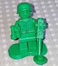 LEGO Toy Story Green Army men Minifigure lot w/ binoculars metal detector plate