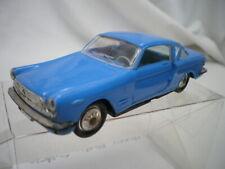 Fiat 2300 s Coupé Bleu 1964 -1967 1/43 Norev plastique 80 jouet ancien TB état