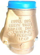 "4"" POWHATAN BRONZE GROOVED SWING CHECK VALVE 300PSI UL/FM FIRE PROTECTION"