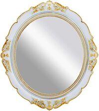 New ListingVintage Hanging Mirrors for Bedroom Living-Room Dresser Decor, Oval Antique Gold
