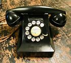 Working 1949 Bell System Western Electric F1 302 Rotary Dial Bakelite Telephone