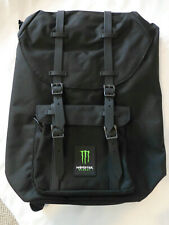 Monster Energy Black Backpack NEW Rucksack