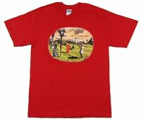 Genesis Turn It On Again Red T Shirt New Official Band Merch