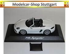Porsche 718 Spyder 982 weiß - Minichamps 1:43 - WAP0202100K - fabrikneu