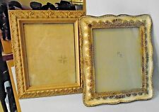 """Lot Of 2 Hotel Collection & Sheffield Home Mirror Frame Photo Frames 8"""" x 10"""""""