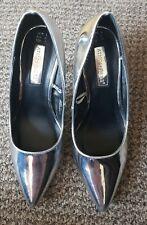 Ladies Primark Silver Heels