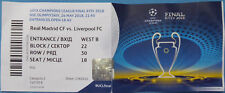 Ticket uefa cl final 2018 Real Madrid CF-Liverpool FC en Kiev wifh names