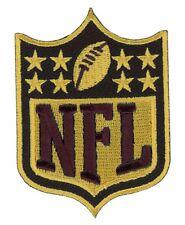 "Oro Negro Super Bowl 50 estrellas de oro Nfl Conmemorativo Parche de Jersey 3"""