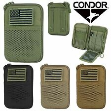 Condor Tactical MOLLE Passport ID/Phone Wallet Pocket Pouch w/ USA Flag MA16