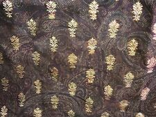 Croscill Figaro King Bed Skirt Brown Gold Red Dust Ruffle