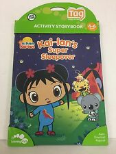 Leapfrog Tag Storybook Kai- Lan's Super Sleepover 4-6 Years