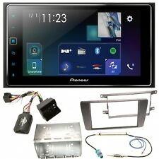 Pioneer SPH-DA130DAB USB MP3 Bluetooth DAB+ Einbauset für Skoda Octavia 2 Yeti 5