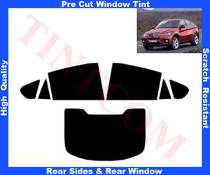 BMW X6 E71 5Doors 08-13 Pre-Cut Window Tint 5%-50% Rear Window & Rear Sides