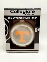 University of Tennessee Collegiate Led With Timer Christmas Ornament