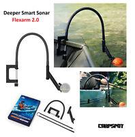 Deeper Smart Sonar Flex Arm 2.0 Flexarm Echolot Halter Montagearm