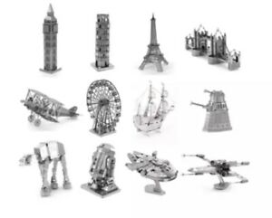 3D Metal Puzzle Model Kit Adult Educational Toy Building Engineering Gift