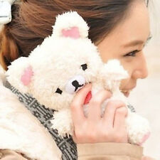 3D Cute Doll Toy Cool Plush Teddy Bear Cover Case For HuaWei Apple Smart Phones