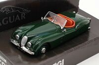 Corgi 1/43 Scale Model Car 02901 - Jaguar XK120 Open Top - Green