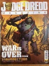 Judge Dredd Megazine Issue 342 17/12/13 Lobster Random Mini-trade (2000ad)