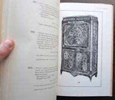 Catalogue de vente Collection Jules Feral Tableau dessin ancien Mobilier XVIIIe
