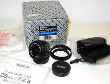 New MINT+++ Konica M-Hexanon 28mm f:2.8 for M-mount Leica M TOP+++