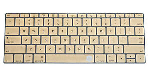 """Silicone Keyboard Cover Skin for Macbook 12"""" with Retina Model A1534 (13 Colors)"""
