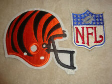 Cincinatti Bengals Helmet and NFL Embroidered