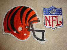 Cincinatti Bengals Helmet and NFL Embroidered