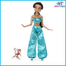"Disney Aladdin Princess Jasmine Classic 11 1/2"" Doll w/ Abu Figure brand new"