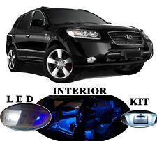 LED Package - Interior + License + Vanity + Reverse for Hyundai Santa Fe 12 Pcs