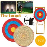 30/55cm Outdoor Sports Archery Shooting Bow Straw Arrow Target Hunting
