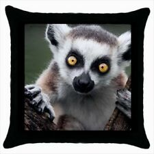 Lemur Throw Pillow Case