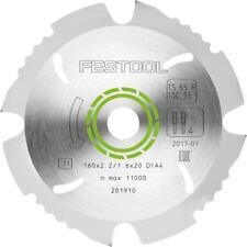 201910-Festool Diamante Lama 160x2.2x20 per TS55 GRATIS il giorno successivo servizio