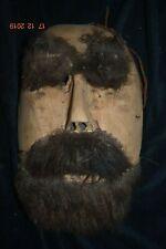 """Orig $399 Siberian Chukchi Shaman Mask 1900S 11"""""""